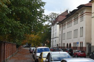Schellingstraße 9–11, automne 2015, photographe : Bernhard Kleeschulte