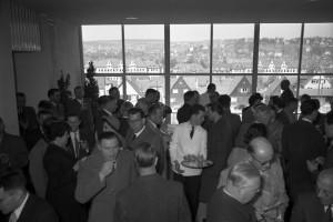 Einweihung der Französischen Schule auf dem Galgenberg, 31. März 1955, Foto: Alfred Göhner, Bildrechte: Stadtarchiv Tübingen