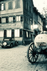 Restaurant zum Pflug, Neustadtgasse