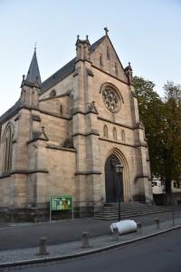 L'église St. Johannes, automne 2015