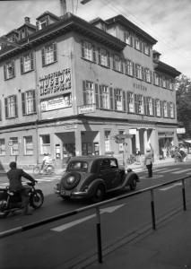 Le Landestheater et le cinéma dans le « Museum » vers 1955