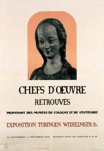 Affiche pour l'exposition « Chefs d'œuvre retrouvés »