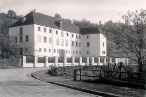 L'ancienne Deutsche Burse, devenue depuis 1948 le Leibniz Kolleg