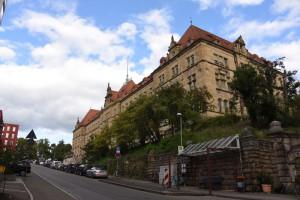 Justizgebäude in der Doblerstraße