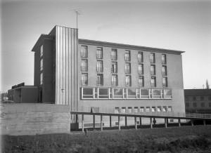 Le « Foyer » sur le Blaue Brücke, vers 1957