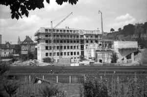 Das Foyer im Bau, 1955