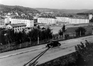 Wohngebäude der Besatzungsmacht an der Stuttgarter Straße