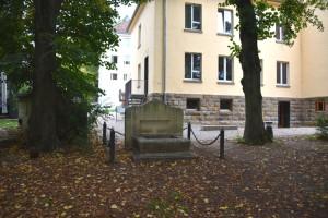 L'ancien monument aux morts de la Légion étrangère dans l'Alexanderpark
