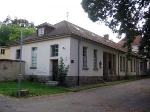Local de l'Amicale des Anciens de la Légion Étrangère dans l'ancienne chambre funéraire de l'hôpital de garnison